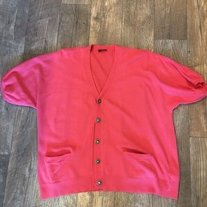 Banana Republic Petite short sleeve Cardigan